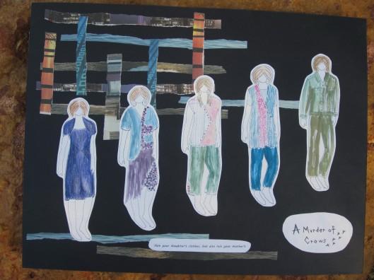 Fashion illustration story board